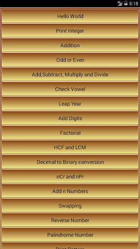 C Programs 2015