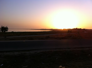 Photo: Lac Rose sunrise, Senegal