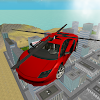 Flying  Helicopter Car 3D Free