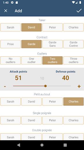 French Tarot Counter screenshots 2