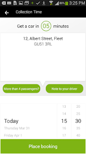 Footprint Taxis- screenshot thumbnail