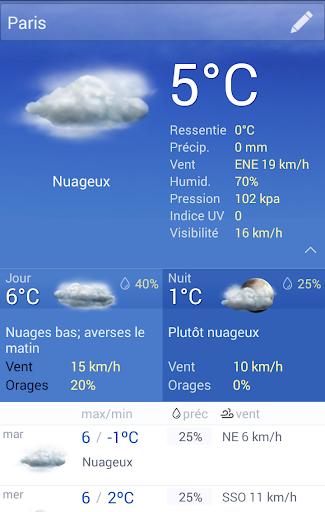 La Meteo France screenshot 2