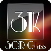 3K SQR Glass - Icon Pack