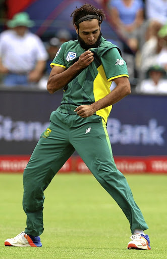 The Proteas' Imran Tahir says it is 'an absolute honour' to play for SA. Pictures: GALLO IMAGES