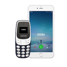 Mini telefon mobil, BM10 Dual SIM, OLED, 7 cm, 30 grame, 350mAh