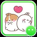 Stickey Molang Qq icon