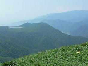 Photo: 揚水式発電の上下ダム湖