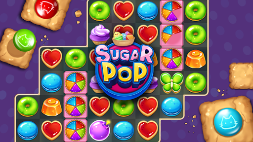 Sugar POP - Sweet Puzzle Game  captures d'u00e9cran 2
