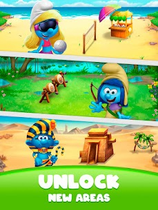 Smurfs Bubble Shooter Story 10