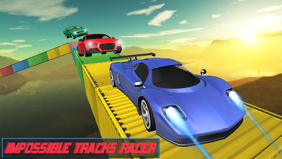 Modern Impossible Tracks Car Stunts: Scary Drive - náhled