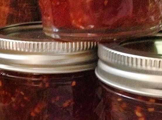 Rhubarb Raspberry Jam Recipe