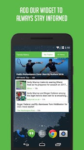 Tennis News - Sportfusion- screenshot thumbnail