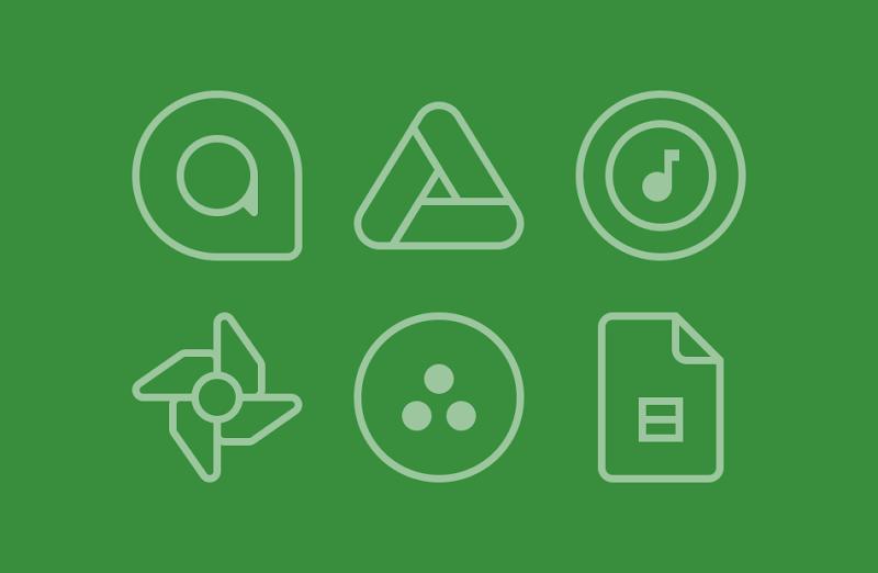 TwoPixel Light - Icon Pack Screenshot 2