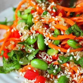 Quinoa Salad Rice Vinegar Recipes