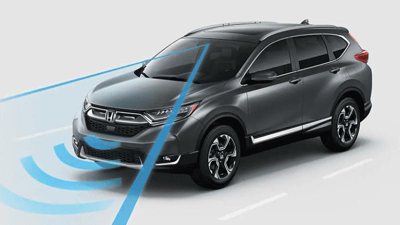 ระบบความปลอดภัยของรถยนต์ : Honda CR-V 2021
