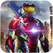 Iron Hero : Grand Flying City Rescue Mission 3D Android APK Download Free By Endgames