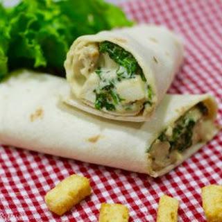 Caesar Salad Wrap Recipes