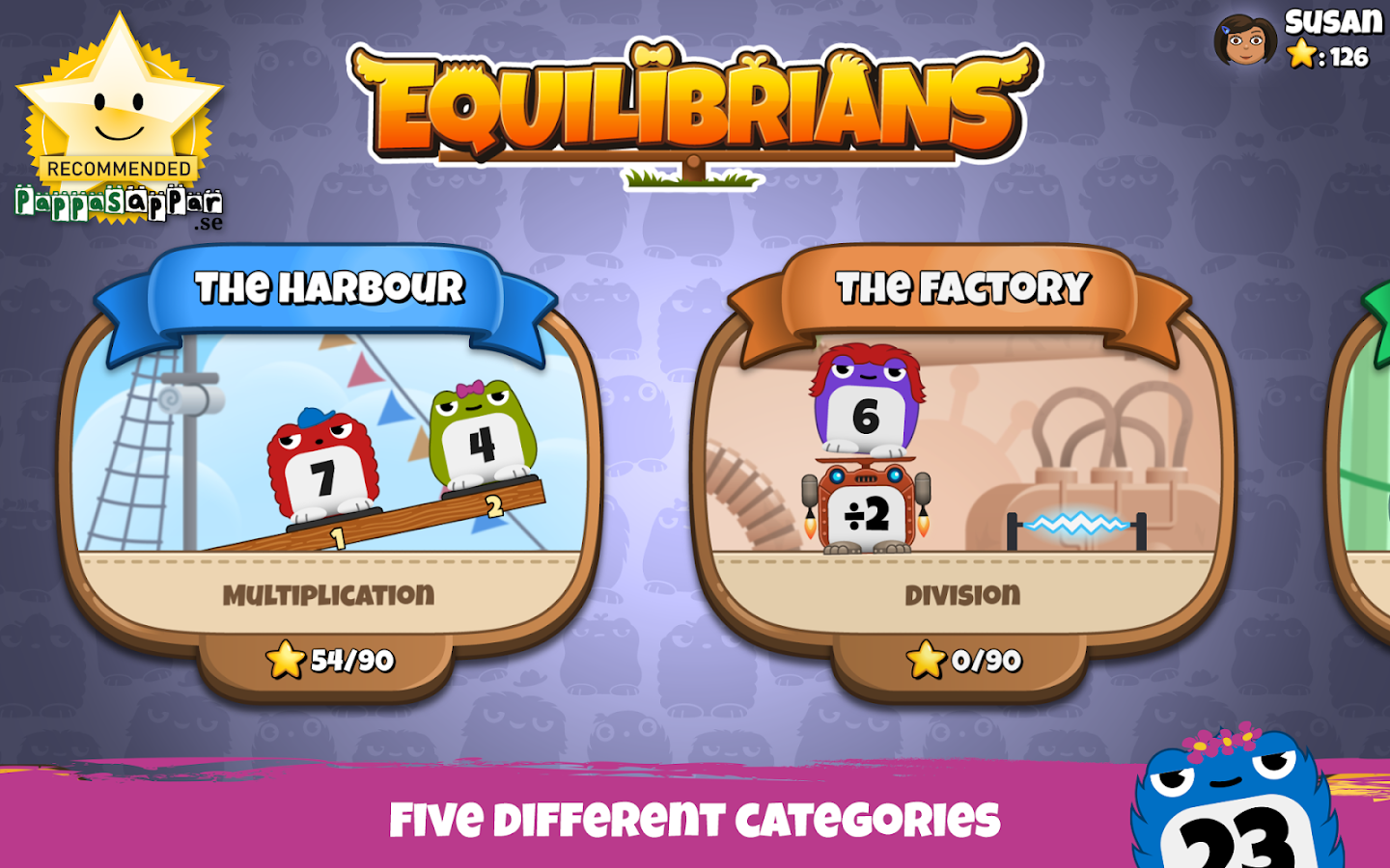 Equilibrians- screenshot