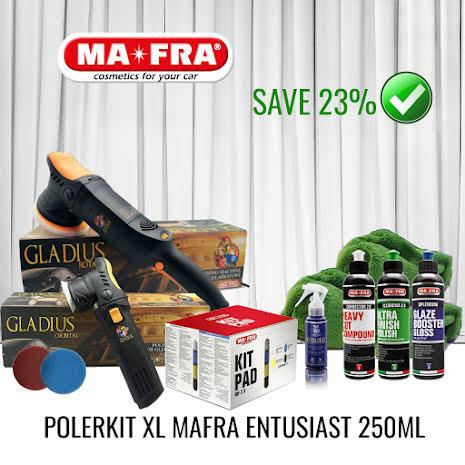 Mafra Polerpaket XL entusiast 250ml