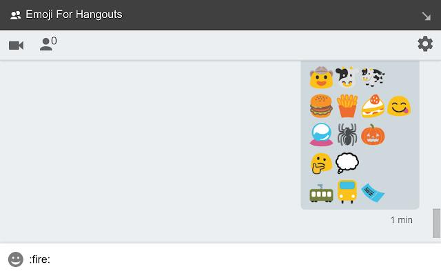 Emoji For Hangouts