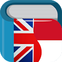 Indonesian English Dictionary & Translator Free icon