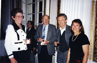 Photo: 100th Boston Anniversary: Elaine & Dave Ruch, Tom Sturak and Jacqueline