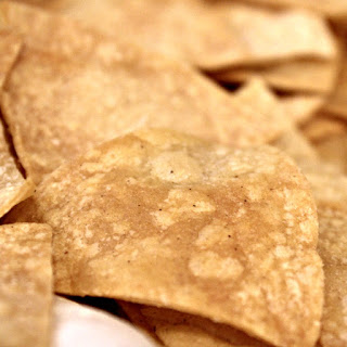 Homemade Tortilla Chips.