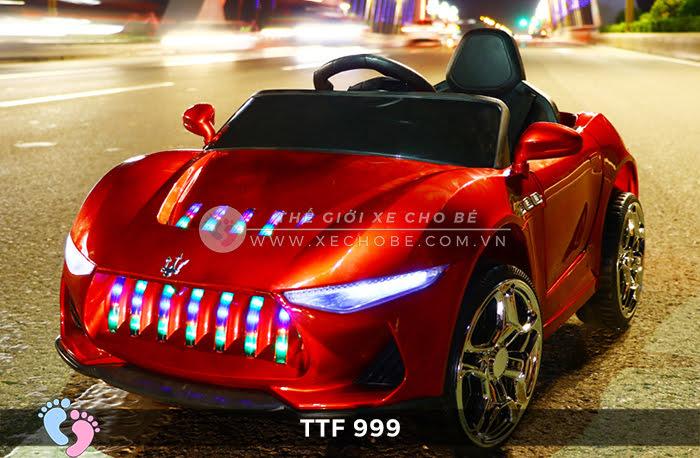 Ô tô điện đồ chơi trẻ em cao cấp TTF-999 5
