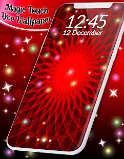 App Live Wallpaper Magic Touch APK for Windows Phone