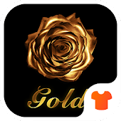 Golden Flower Rose Theme