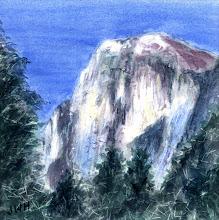 Photo: Half Dome in Yosemite