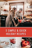 Quick Holiday Recipes - Pinterest Pin item