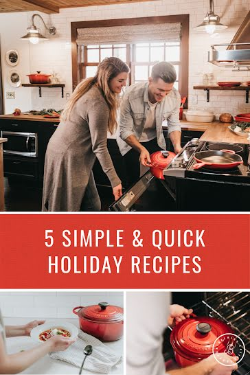 Quick Holiday Recipes - Christmas Template