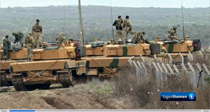 Türkische Panzer aus Deutschland.