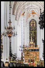 Photo: Der Bau des St.-Clemens-Doms zu Aarhus begann im Jahr 1201 in romanischem Stil.