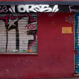 by Jon Crow - City,  Street & Park  Street Scenes