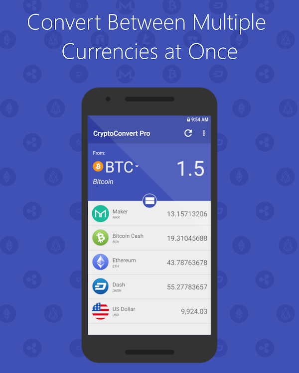 CryptoConvert Pro - Cryptocurrency Calculator – (Android