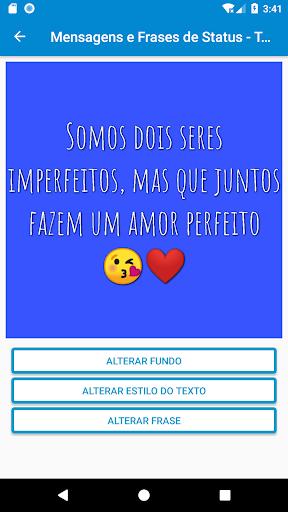 Mensagens e Frases de Status - Top Frases 1.7.5 screenshots 1