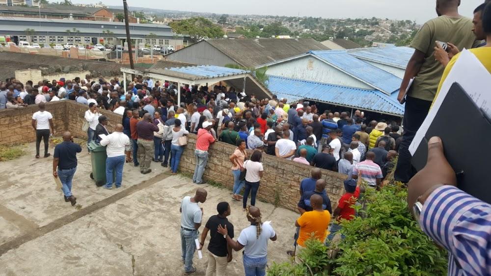 Floor of Durban public works building collapses before tender briefing - SowetanLIVE