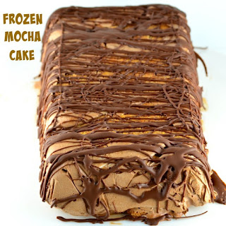 Vegan Frozen Mocha Cake (Gluten Free)
