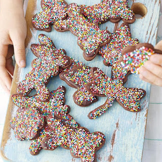 Chocolate Cookies with Sprinkles