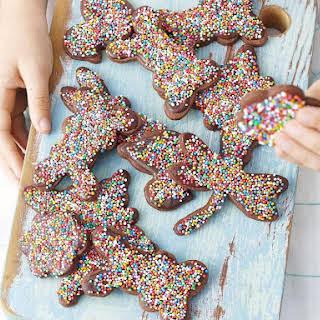 Chocolate Cookies with Sprinkles.