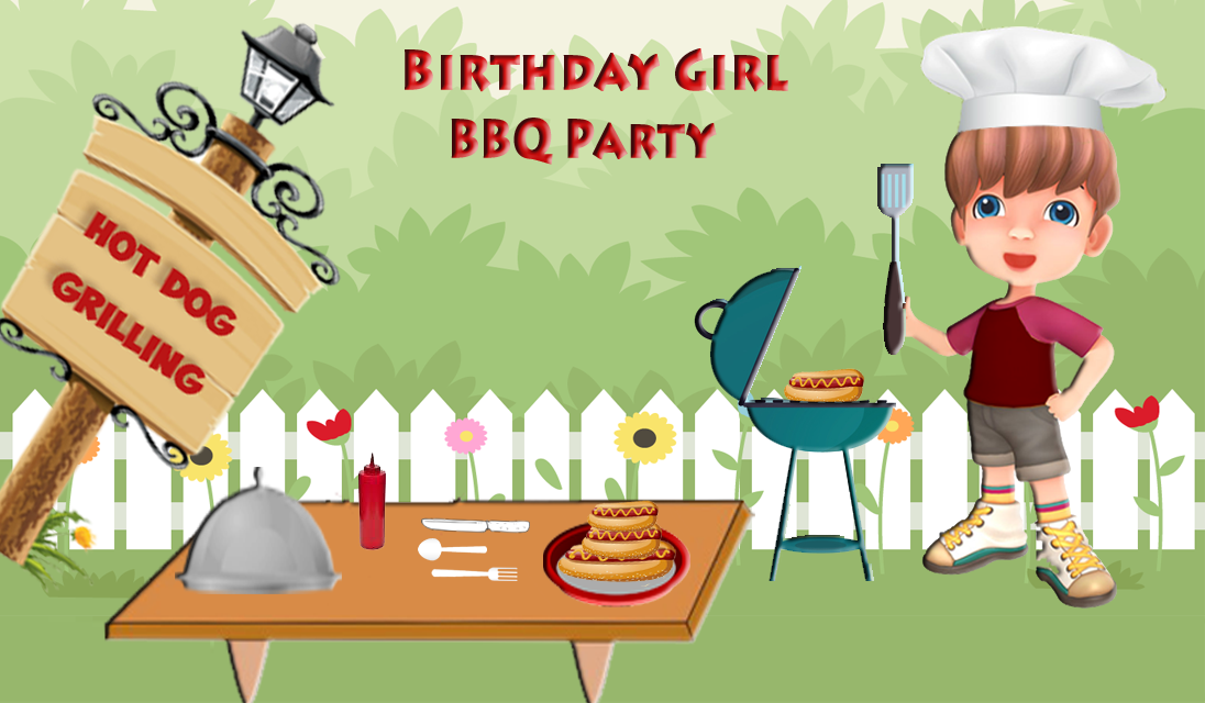 BBQ Backyard Birthday Party Super Grill Chef Android Apps On - Backyard bbq party cartoon