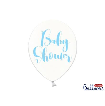 Ballonger Babyshower, blå