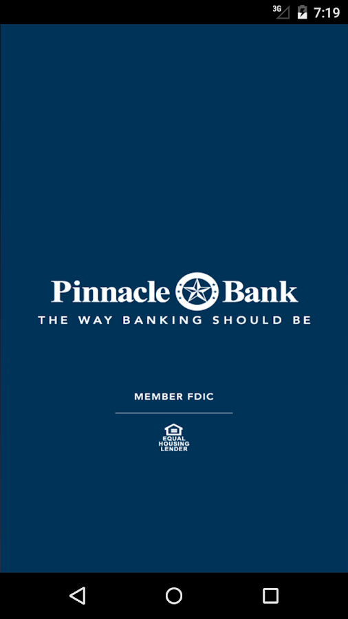 Pinnacle Bank Texas- screenshot