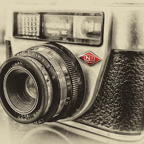 Vintage camera by Arijit Acharya - Artistic Objects Antiques ( abstract, vintage, camera, film camera, national 35 )