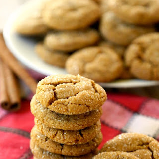 Old-Fashioned Ginger Snap Cookies.