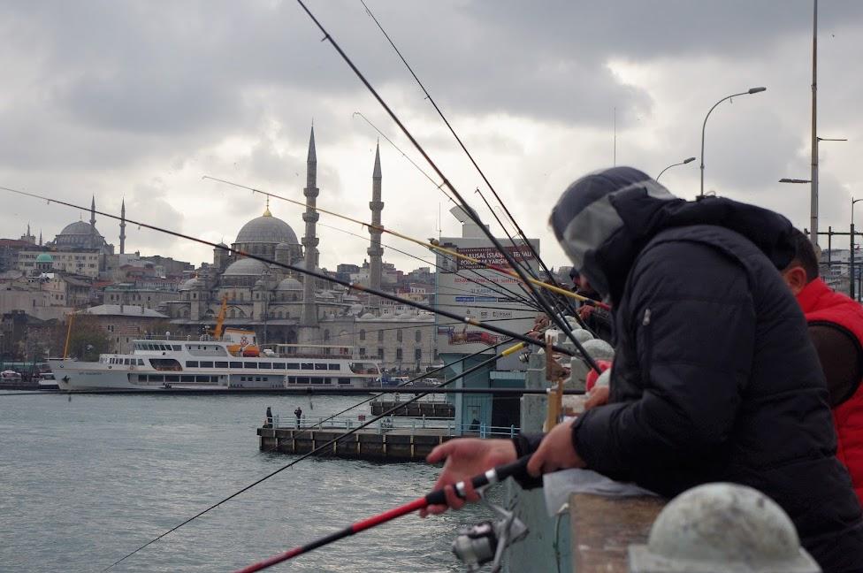 Qué ver en Estambul. Puente Galata