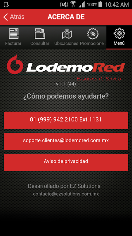 LodemoRed- screenshot