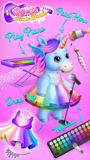 Pony Sisters Pop Music Band - Play, Sing & Design screenshots 4